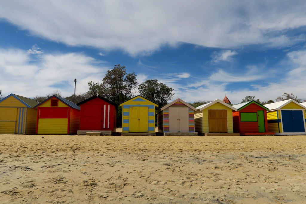 Brighton Bathing Boxes, Dendy Street Beach, Brighton, Melbourne beach
