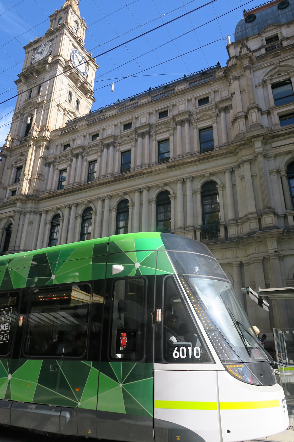 Moving to Melbourne, Bourke Street Mall, Melbourne trams