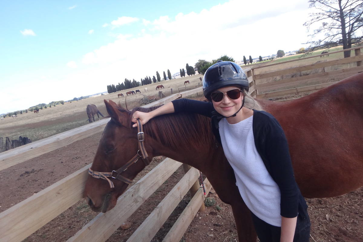 Daylesford, horse riding and one Wilful F*$!ker