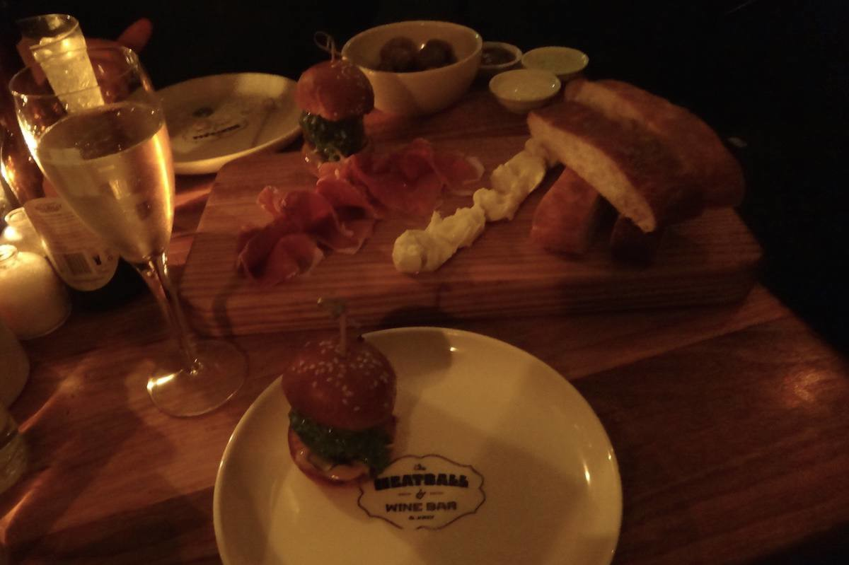 The Meatball and Wine Bar, Flinders Lane, Melbourne