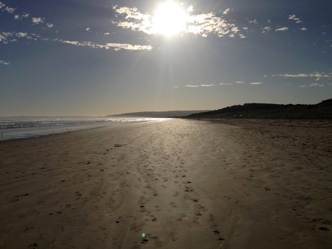 Adelaide's best surfing widow friendly beaches, Goolwa Beach, South Australia