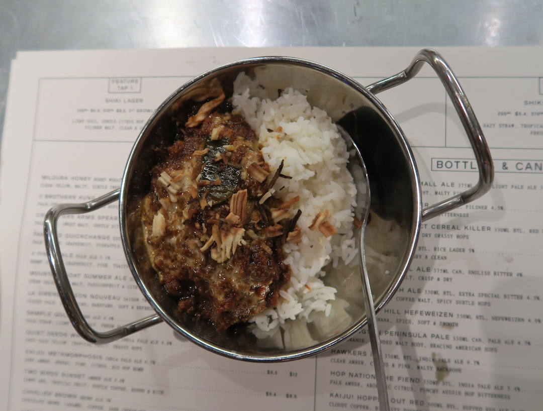 best things to do in Windsor, Hawker Hall beef rendang