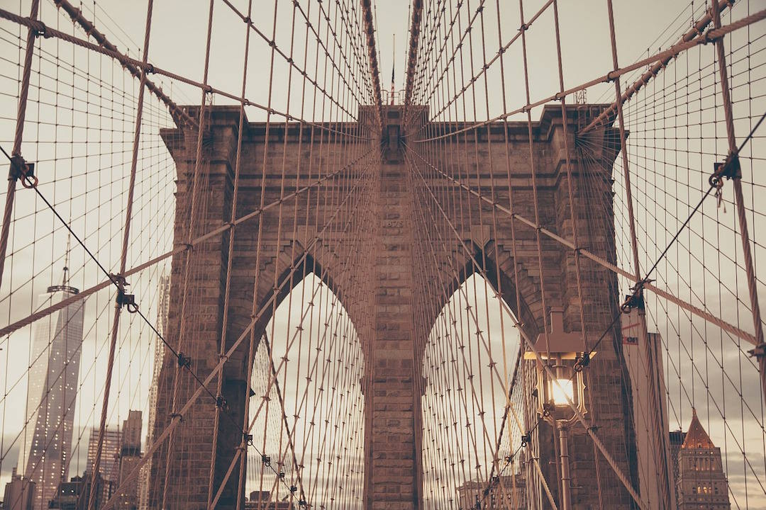 bucket list travel destinations, Brooklyn Bridge, New York, USA - hero