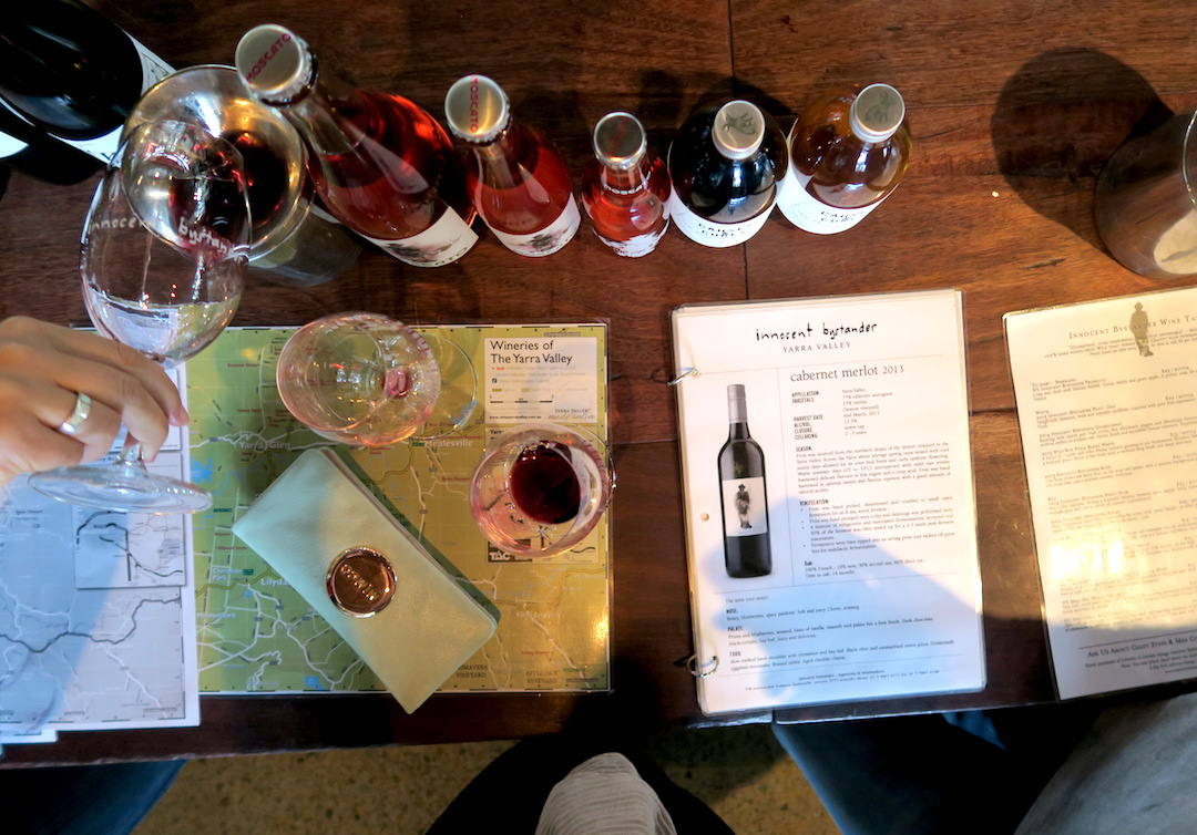 Yarra Valley wine tour, Innocent Bystander, Yarra Valley