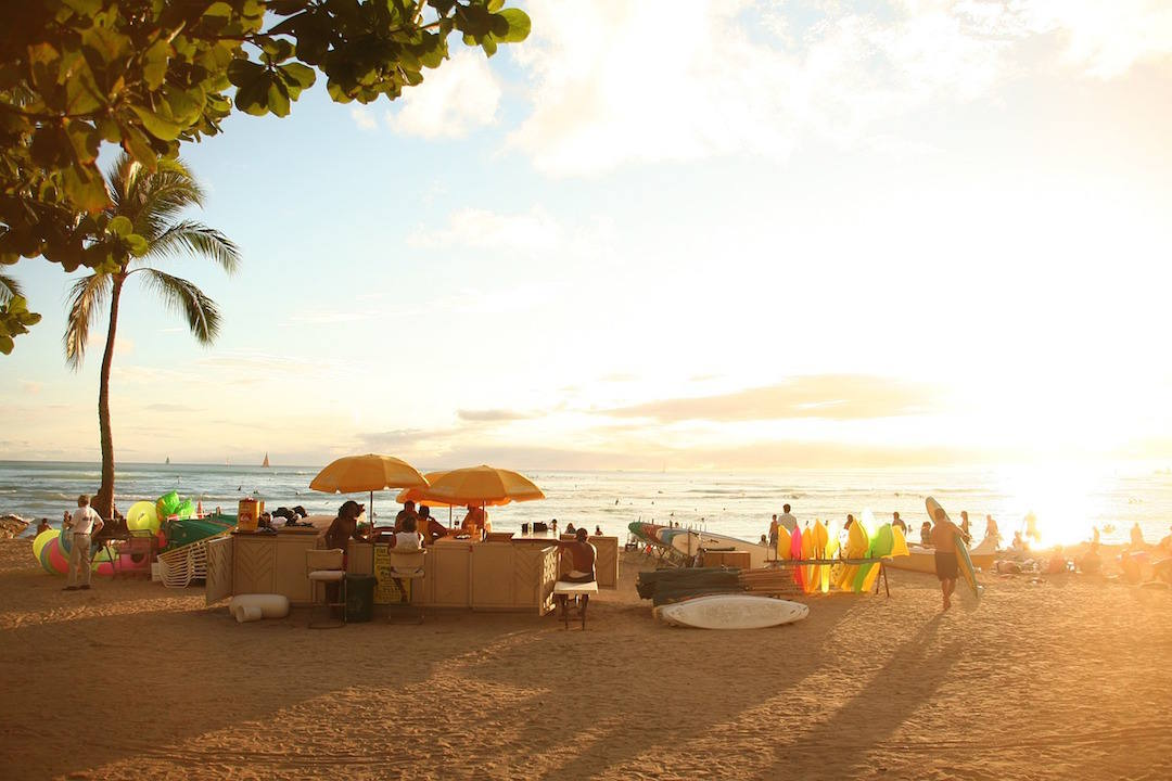 bucket list travel destinations, Waikiki, Hawaii