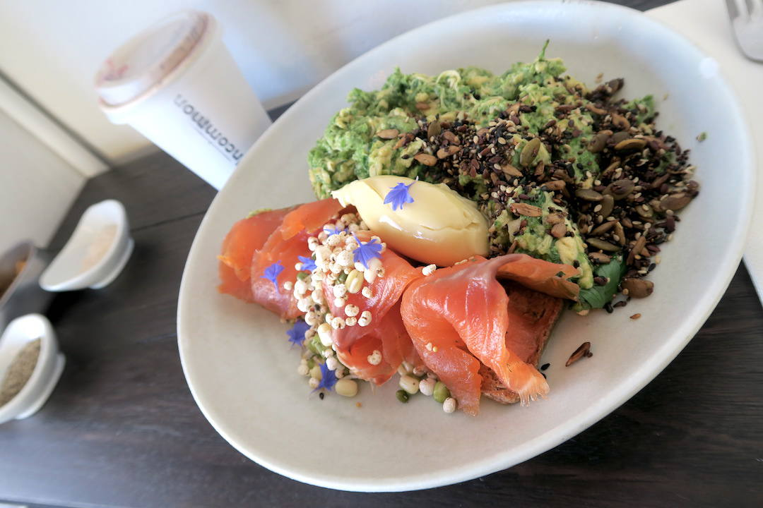Uncommon Chapel Street Windsor salmon pastrami brunch