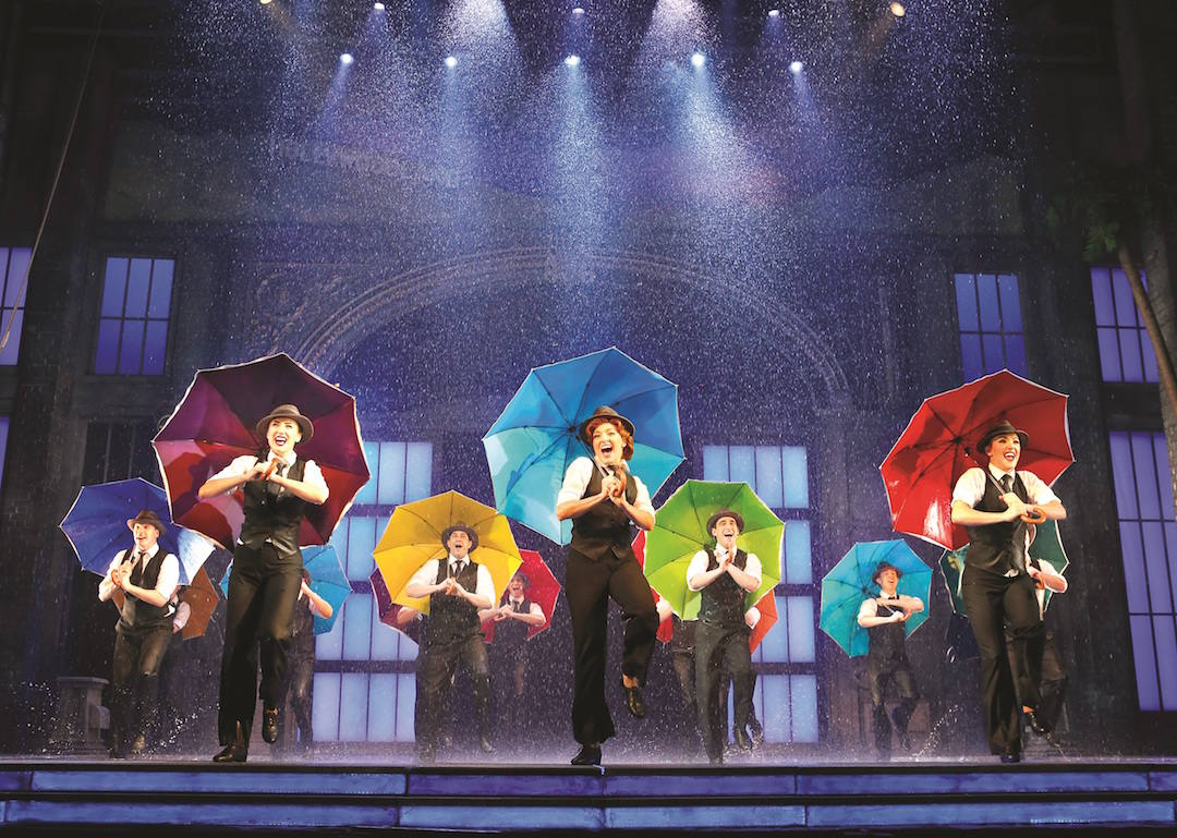 Musical: get your umbrella, Singin' in the Rain has bucketed down on Melbourne