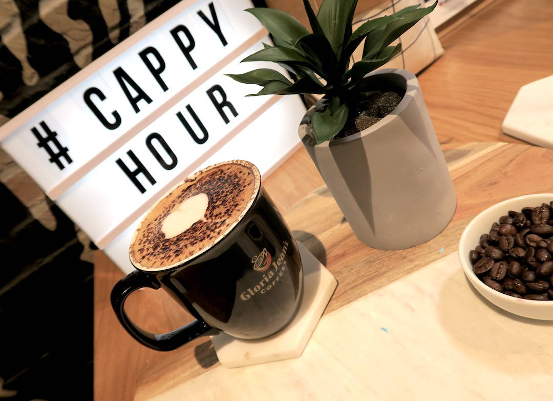 Gloria Jeans 'Cappuccino for a Cause': drink coffee, support charity – what's not to love about that!