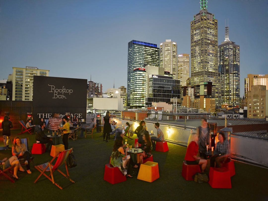 best bars in Melbourne, Rooftop Bar, Melbourne (Tourism Victoria)