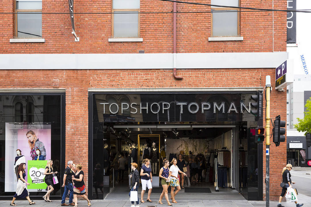 best places to go shopping in Melbourne, Topshop, Chapel Street, South Yarra