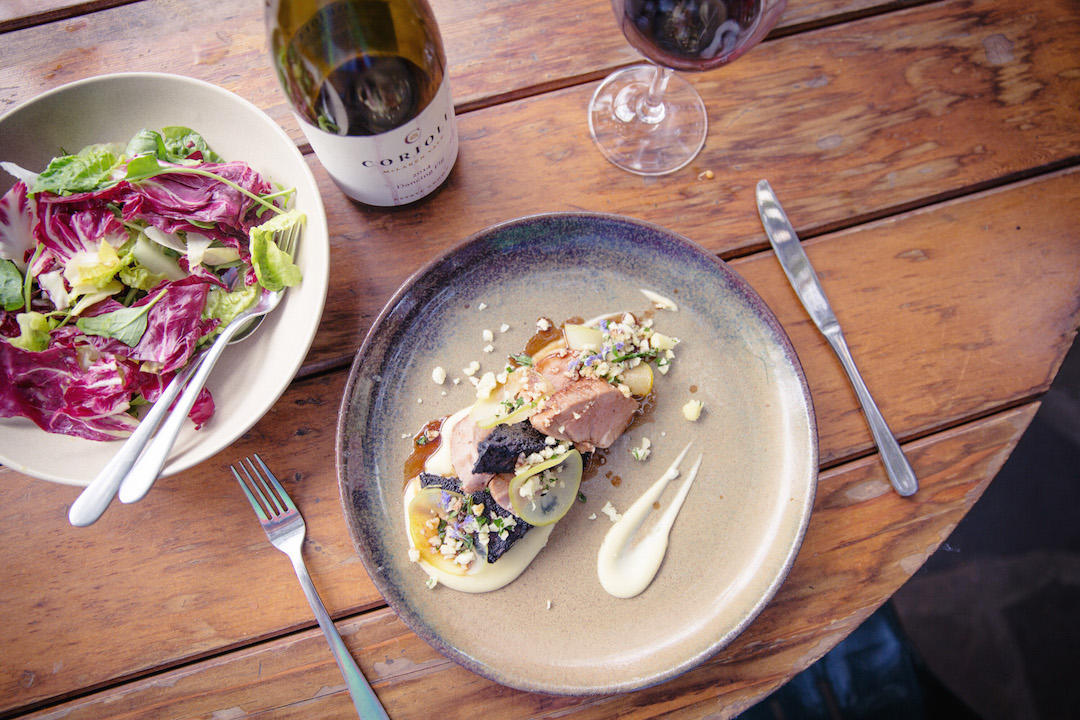 South Australia's best winery lunch, Coriole restaurant, McLaren Vale, South Australia