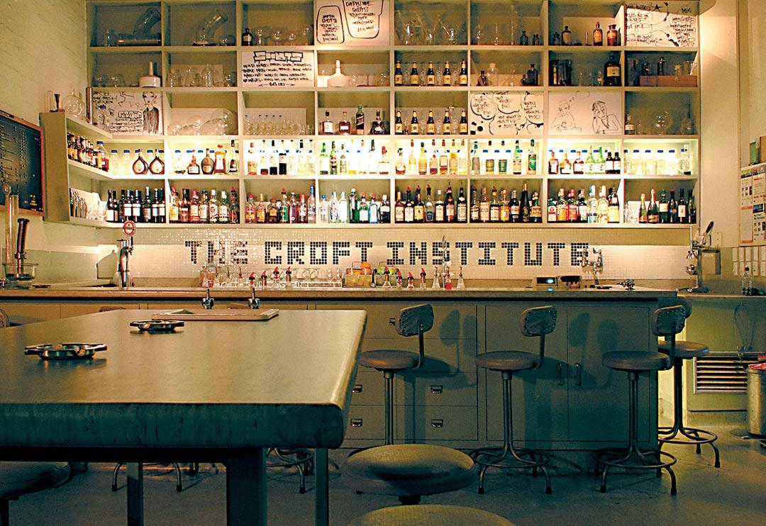 best bars in Melbourne, Croft Institute, Melbourne