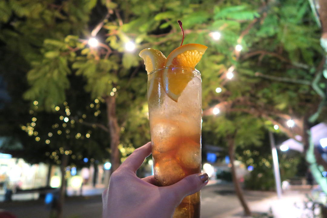 things to do in Noosa, Cocktail at Miss Moneypennys, Noosa, Queensland