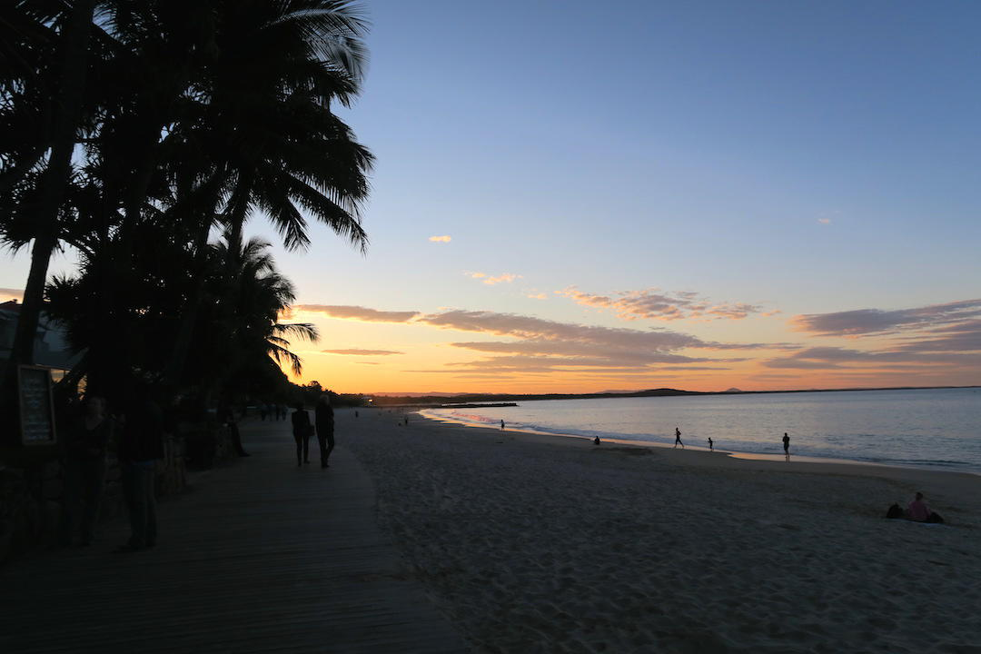 things to do in Noosa, Noosa Main Beach sunset, Queensland