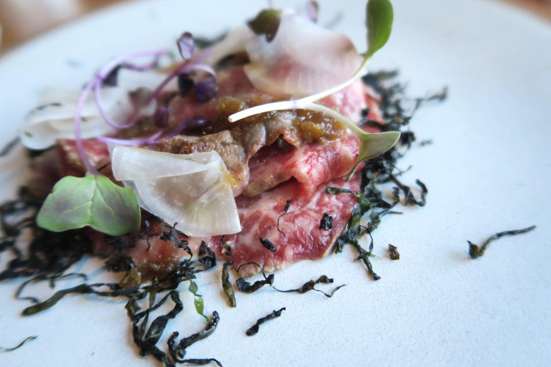 Aubergine: a gastronomic fine dining degustation in Canberra