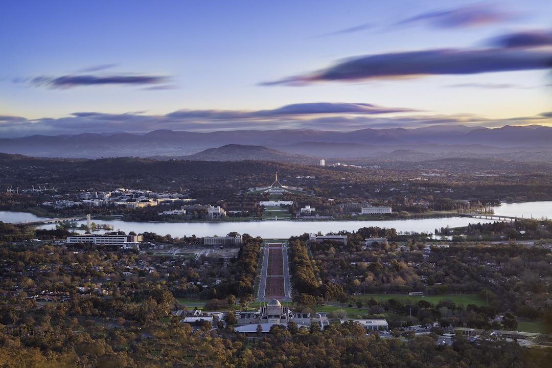 View from Mount Ainslie, Canberra, Australian Capital Territory