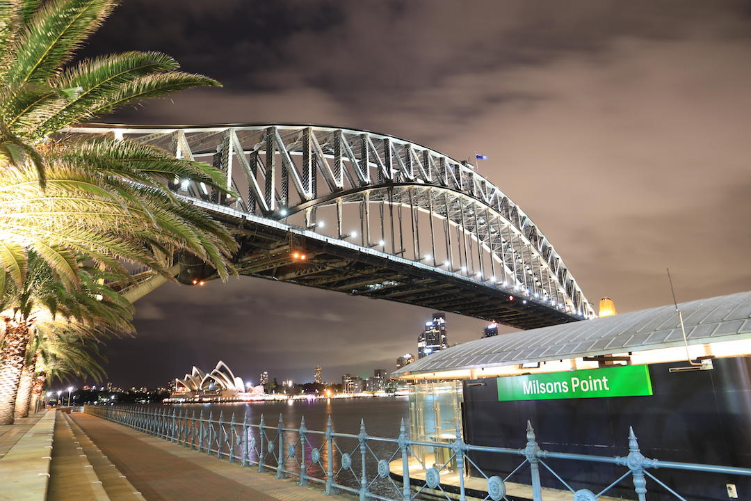 Moving to Sydney, Milsons Point, ferry terminal, Sydney