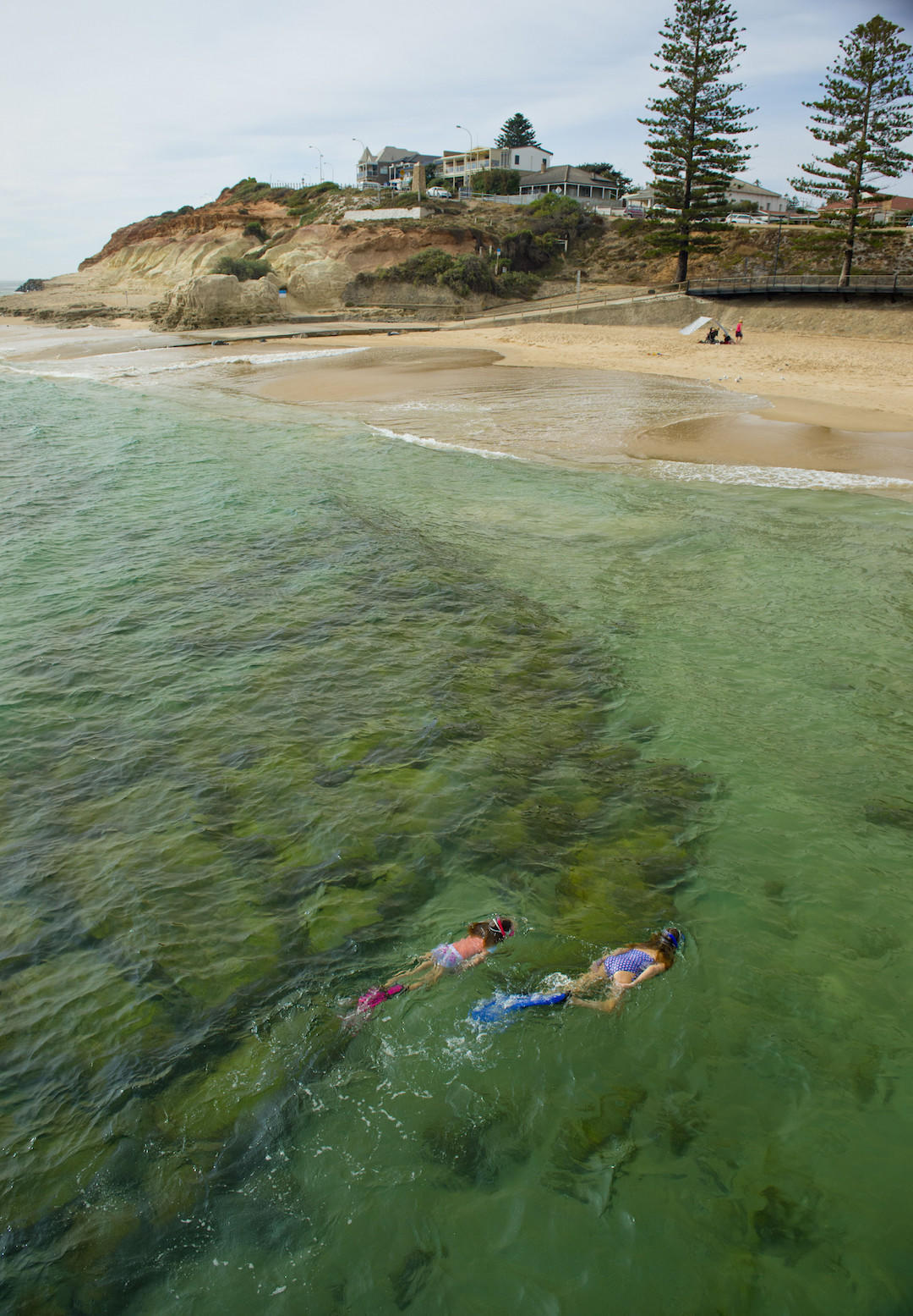Snorkelling, Port Noarlunga Beach, South Australia