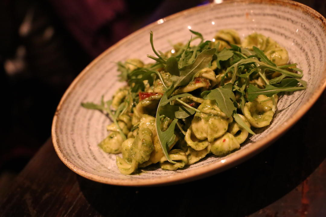 Orecchiette pasta, The Winery, Crown Street, Surry Hills, Sydney