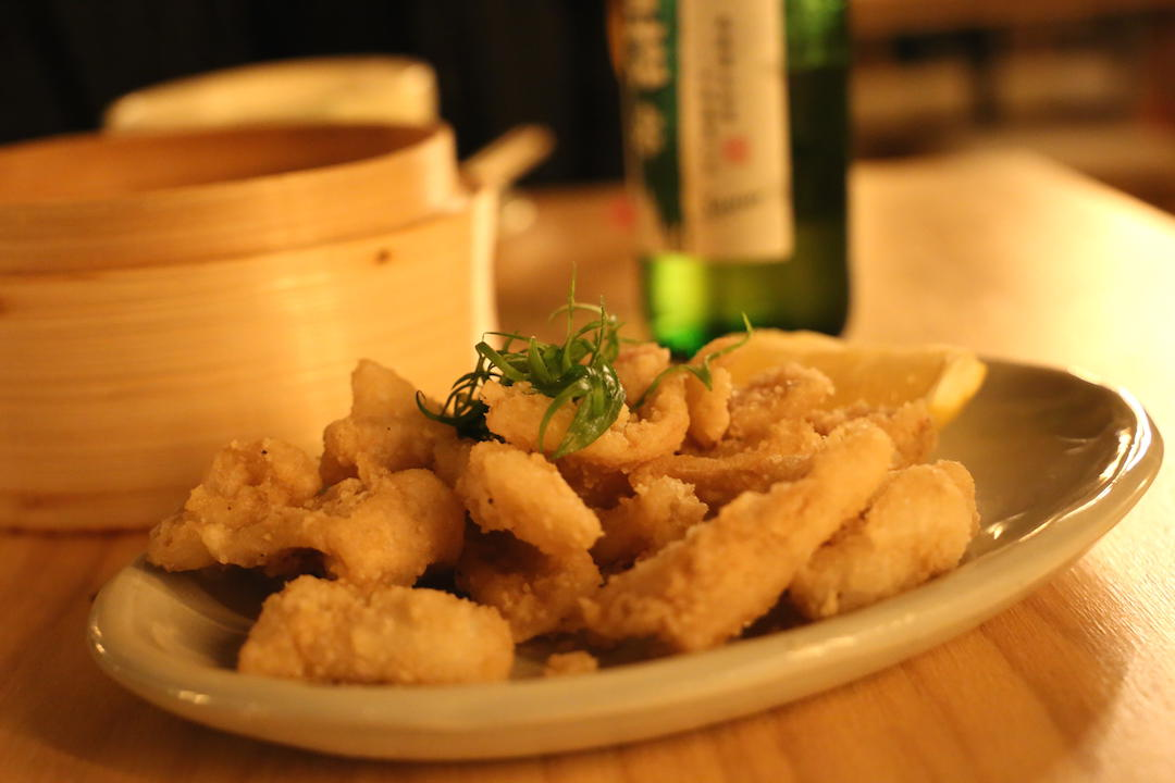 Salt and Pepper Calamari, Cha Li Boi, Bondi Junction, Sydney