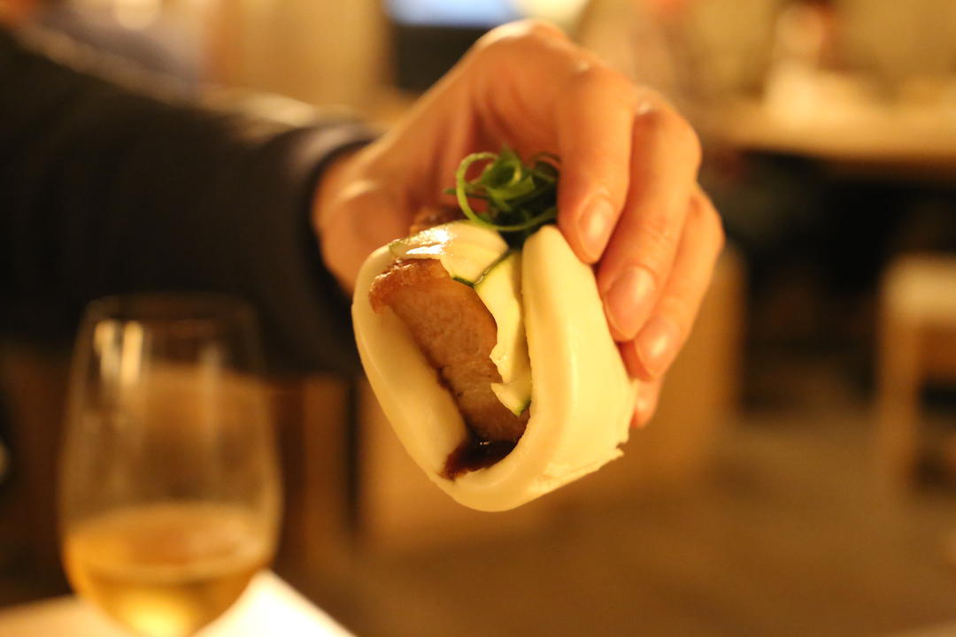 Suckling pork bun, Cha Li Boi, Yum Cha and Bar, Bondi Junction, Sydney