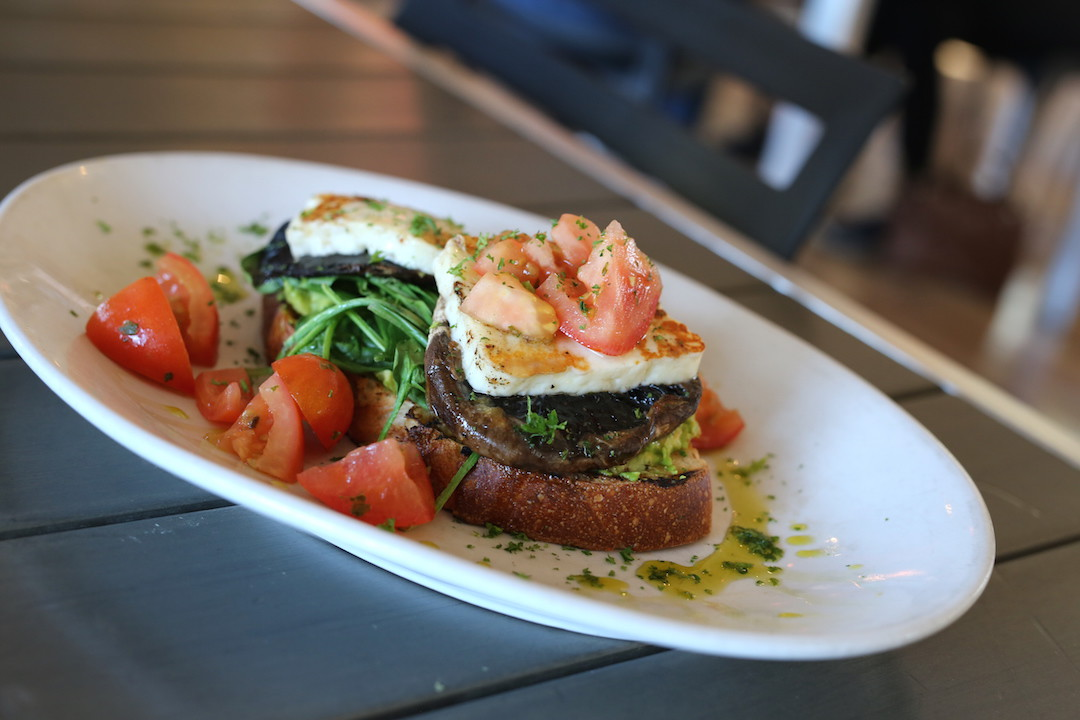 Avocado toast, The Deck Cafe, Lovedale, Hunter Valley