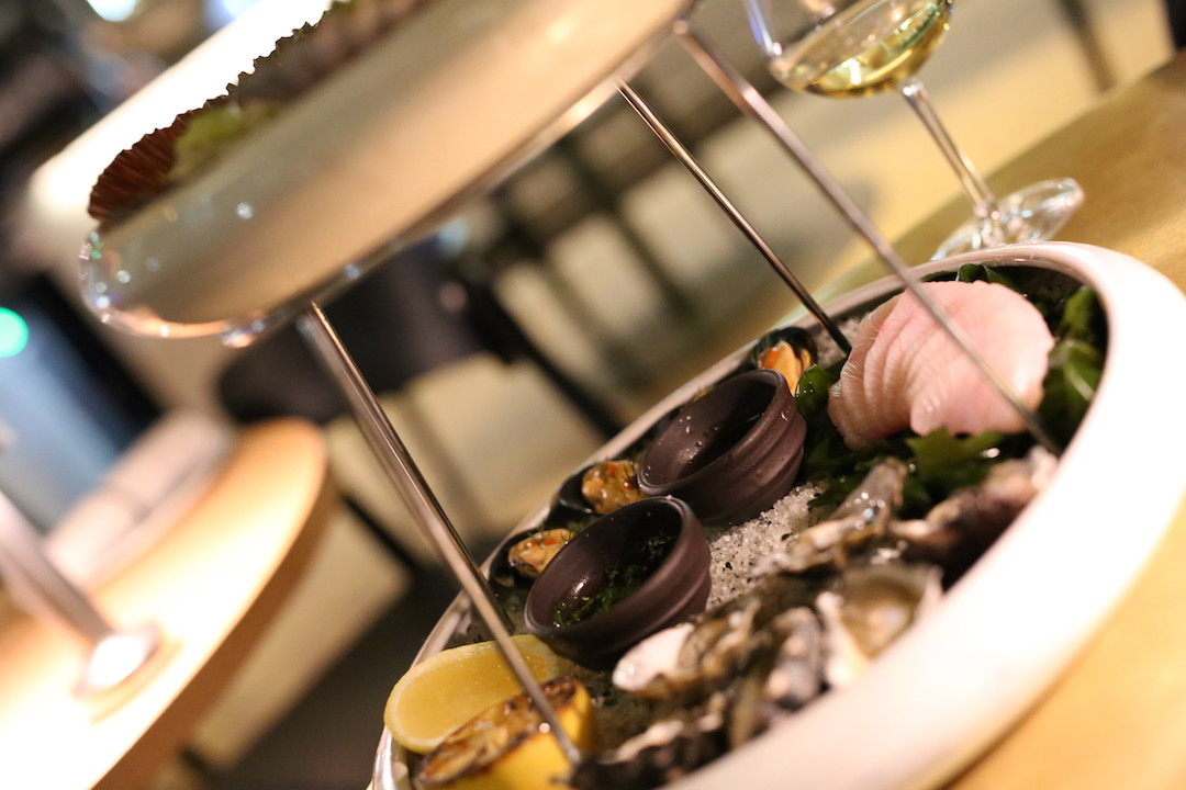 Cirrus: seafood dining by the harbour at its best