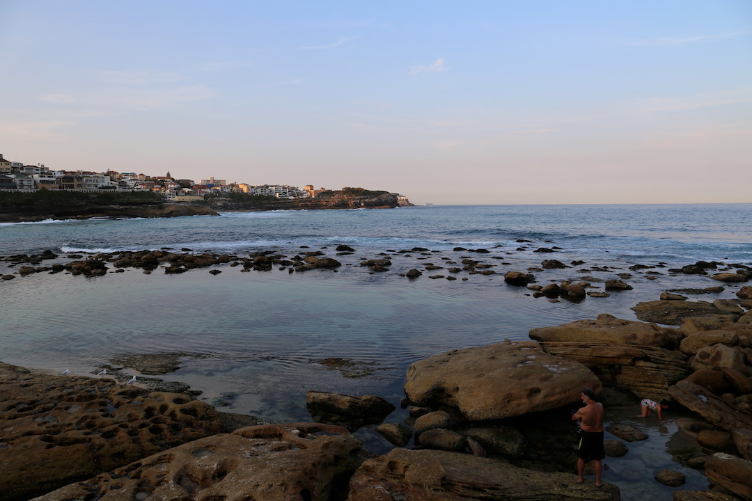 Bogey Hole rock pool, Bronte Beach, Sydney, New South Wales