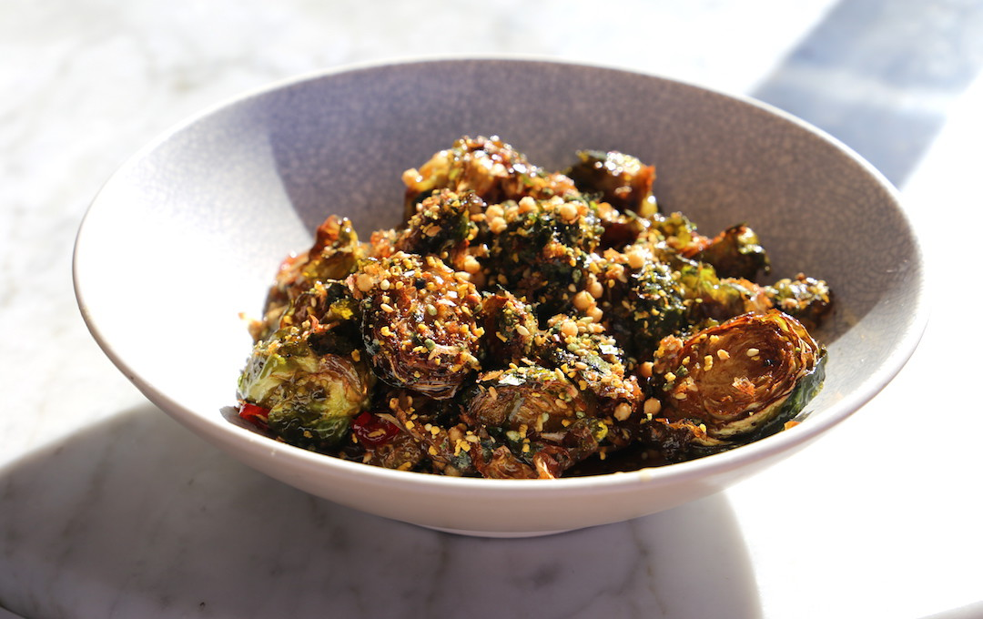 Brussel sprouts, Henry Deane, Hotel Palisade, Millers Point, Sydney