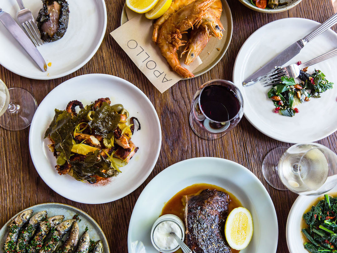 Places to eat in Potts Point, The Apollo, Greek Restaurant, Potts Point, Sydney