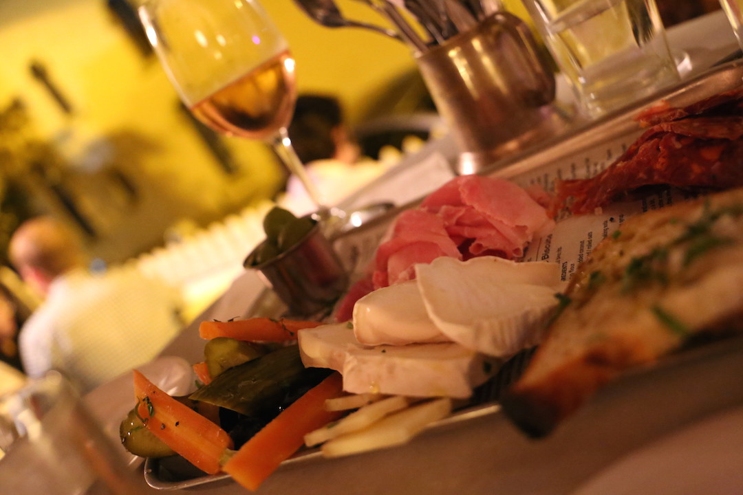 Charcuterie meats and cheese, Chester White Cured Diner, Potts Point, Sydney