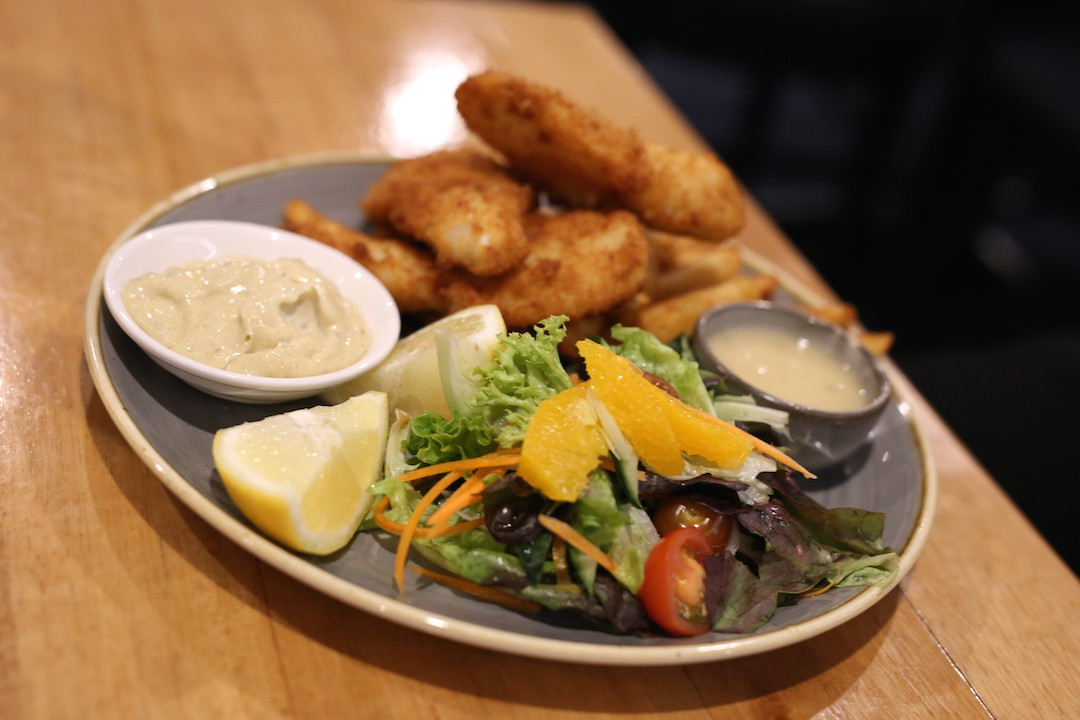 Fish and chips, Mures Upper Deck, Hobart
