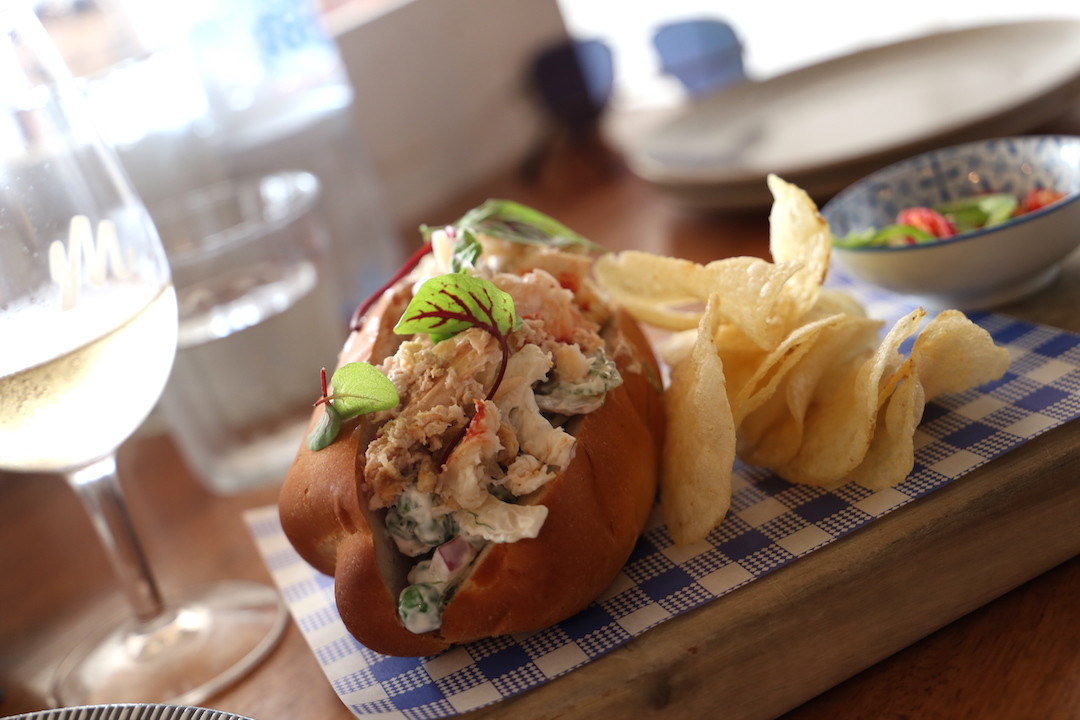 Lobster roll, Manly Wine, Manly