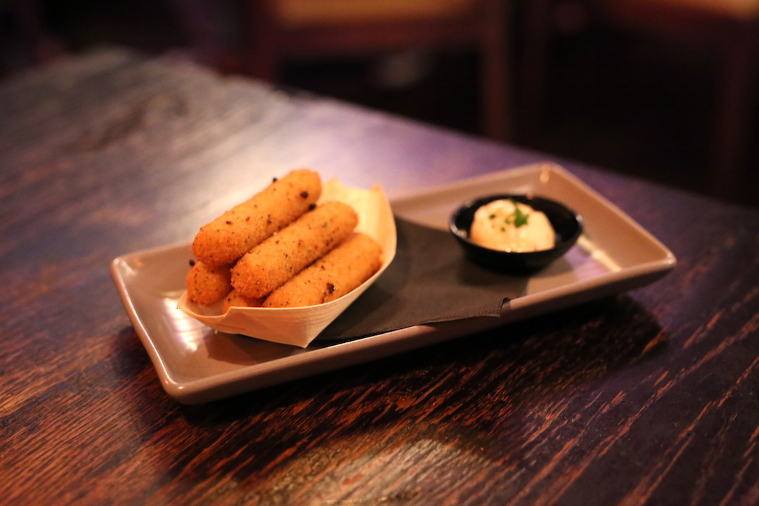 Mozzarella sticks, The Smoking Panda, Park Street, Sydney