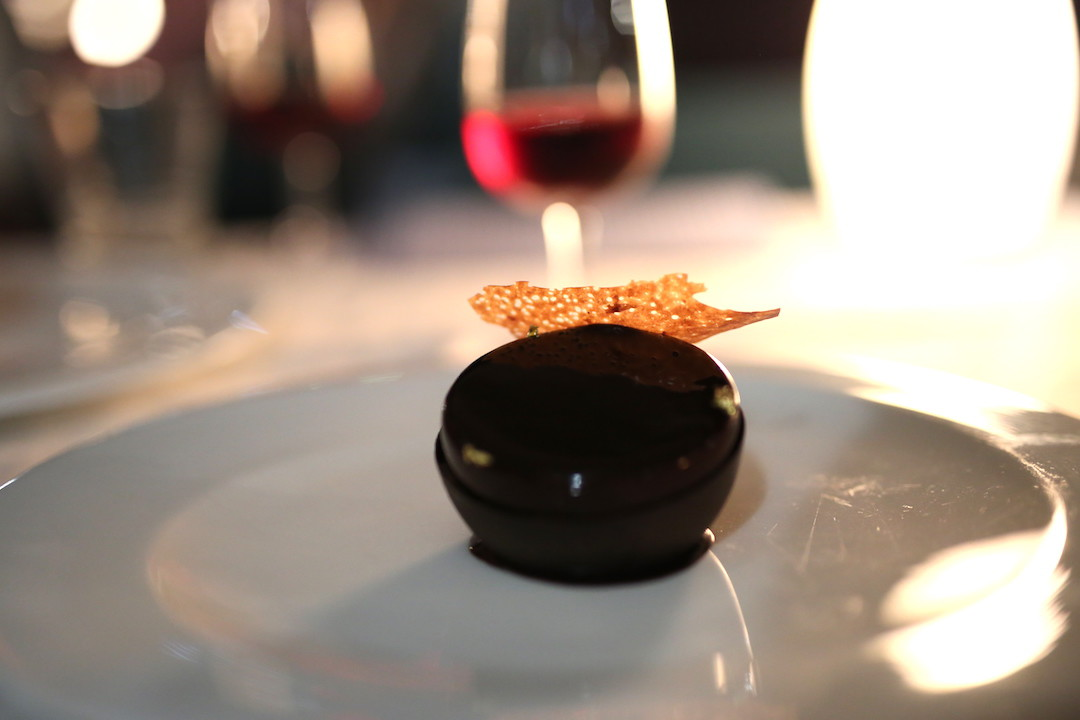Chocolate mousse, Otto Ristorante, Finger Wharf, Woolloomooloo, Sydney