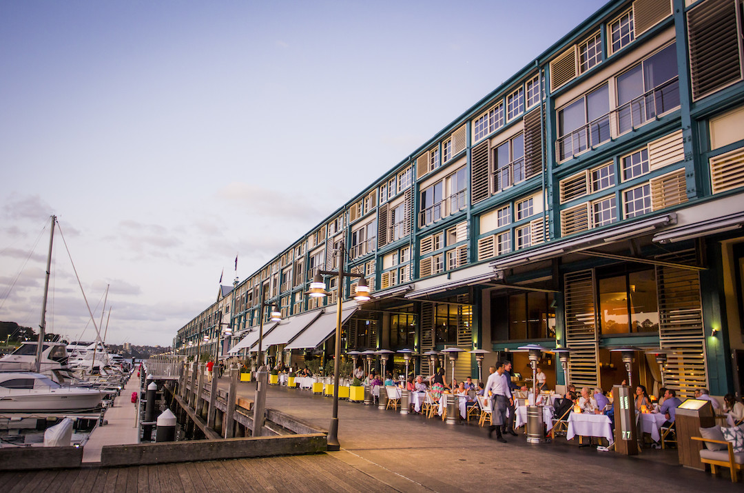 Finger Wharf, Woolloomooloo, Sydney, New South Wales