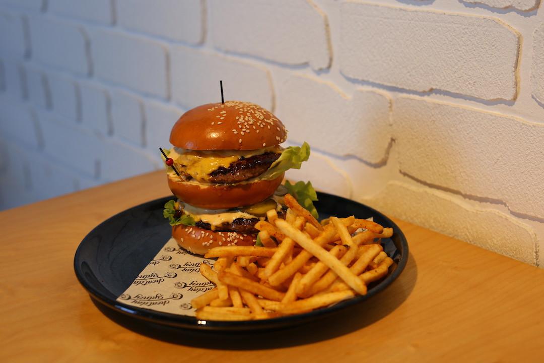 Big Mav Burger, Cheatday Sydney, Peakhurst, Sydney