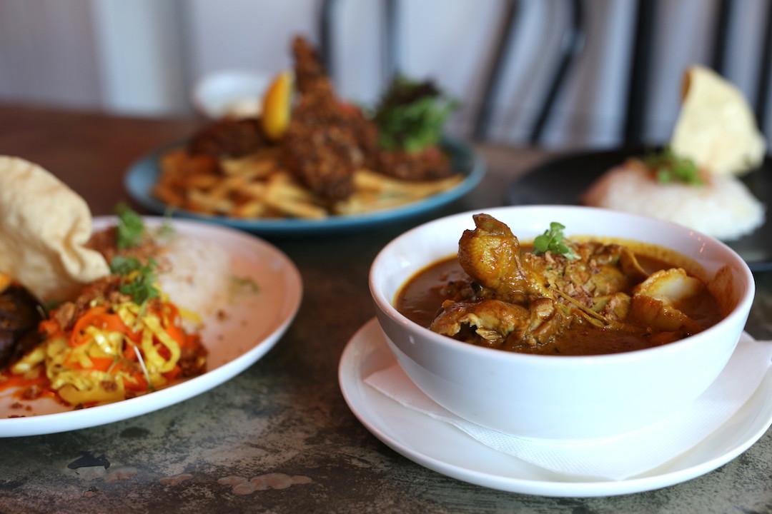 Chicken curry, Rumpus Room, Darlinghurst, Sydney