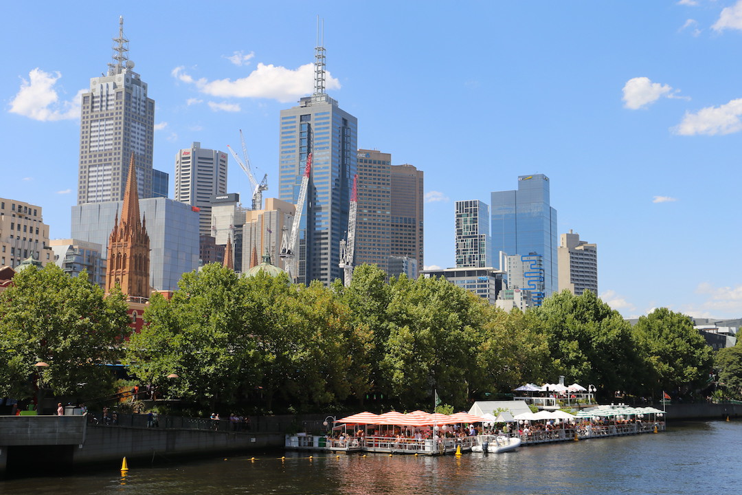 Melbourne city, weekend in Melbourne, Australia