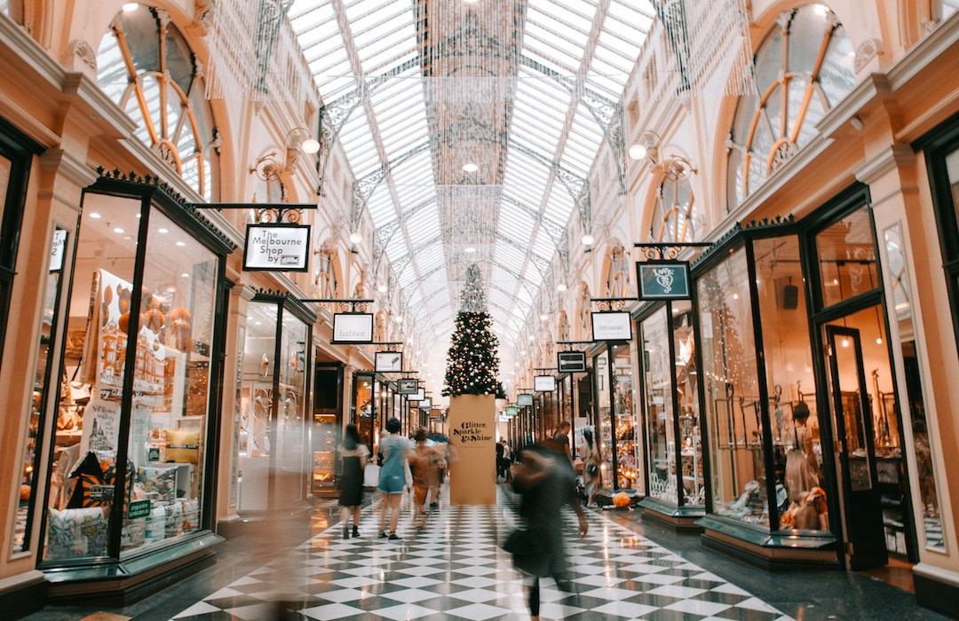 Melbourne shopping