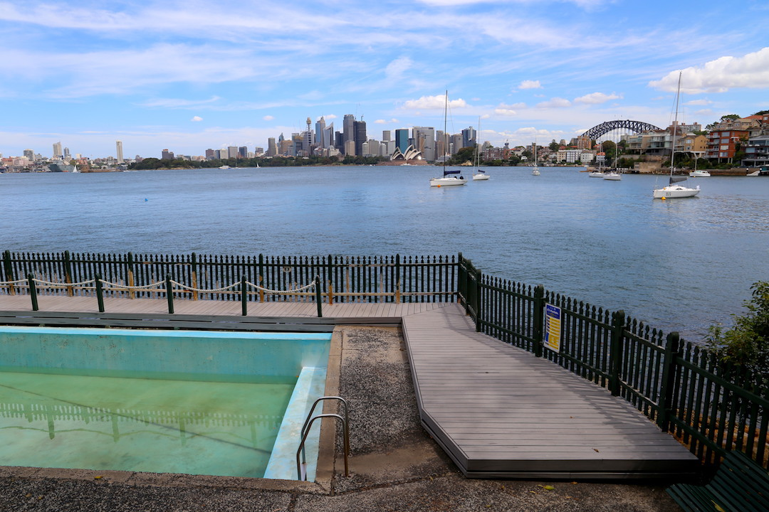 Macallum Pool, Cremorne Reserve, Lower North Shore, Sydney, Cremorne Point to Taronga Zoo walk