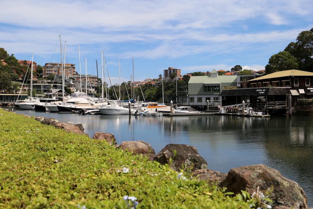 Mosman Marina, Lower North Shore, Sydney, Cremorne Point to Taronga Zoo walk