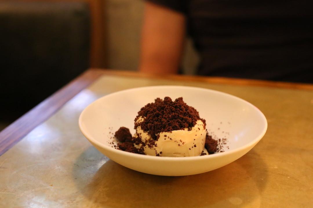Rye ice cream, Arthur restaurant, Surry Hills, Sydney