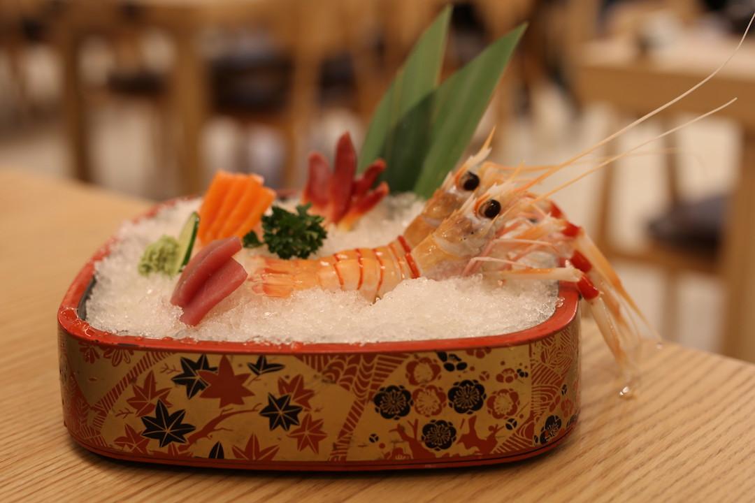 Sashimi platter, Izu Village Restaurant, George Street, Sydney