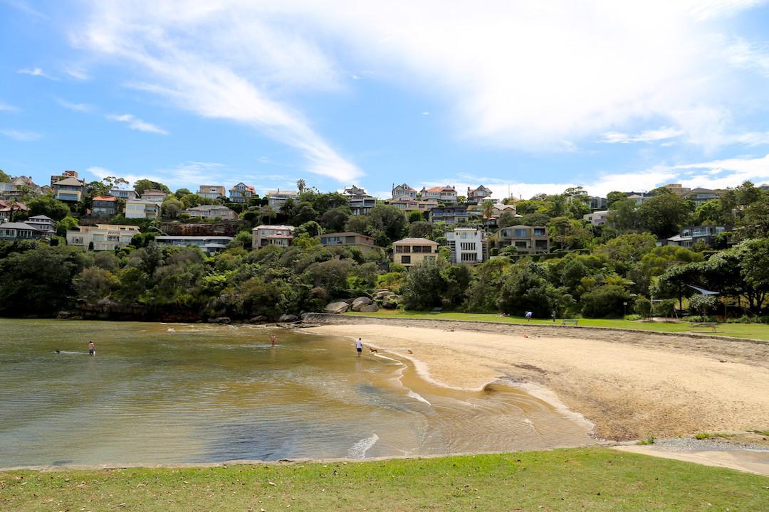 Sirius Cove Beach, Lower North Shore, Sydney, Cremorne Point to Taronga Zoo walk