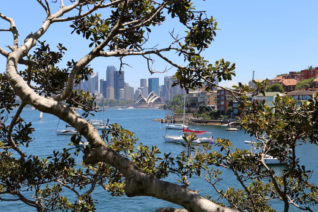 Sydney Opera House, Cremorne Point to Taronga Zoo walk