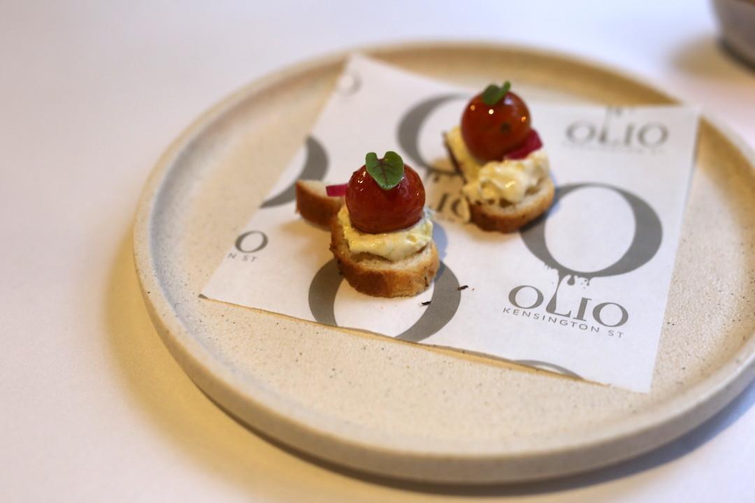 Appetiser, Olio Kensington Street, Chippendale, Sydney