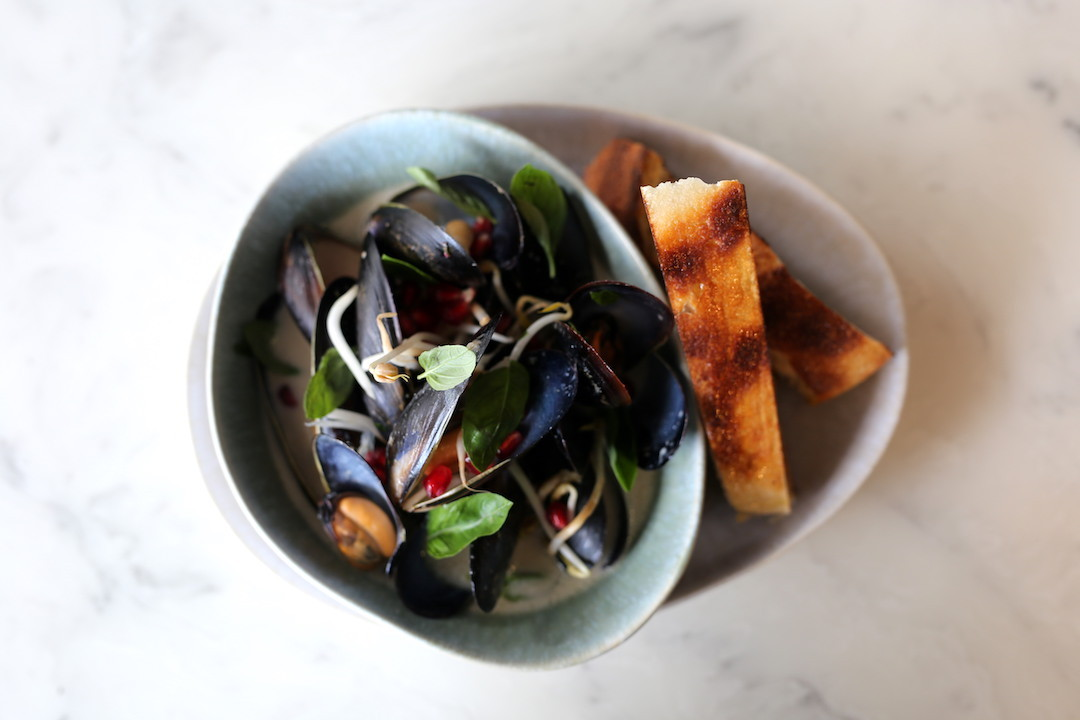 Mussels, Cod's Gift, Dural, Sydney